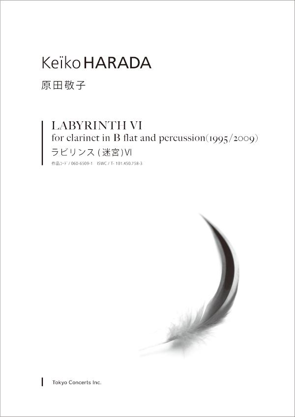 原田敬子 二重奏作品 ラビリンス(迷宮)Ⅵ